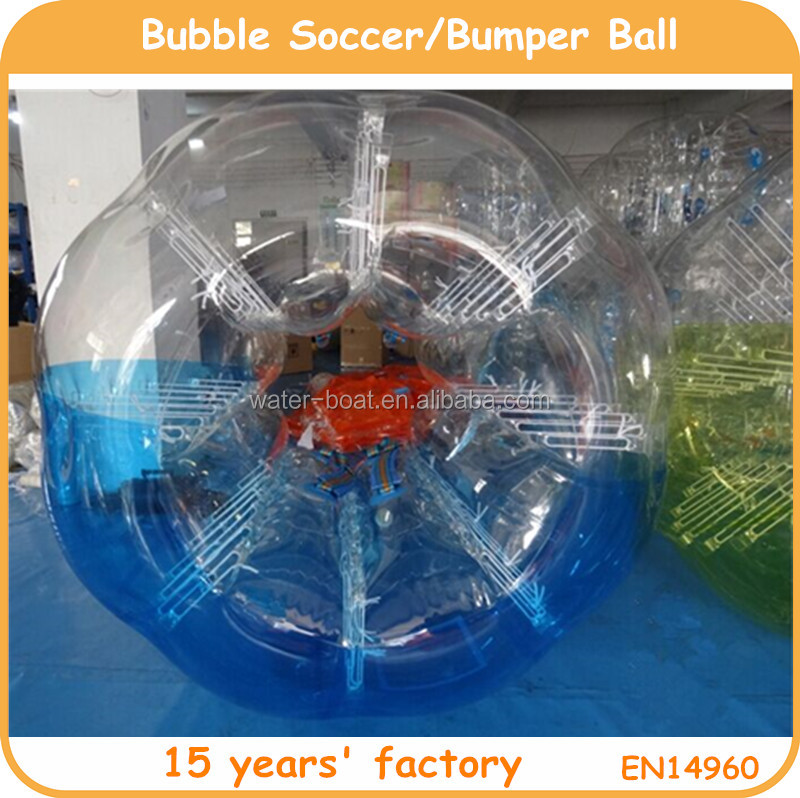 High quality PVC and TPU inflatable zorb soccer, bubble football, bumper ball for sale