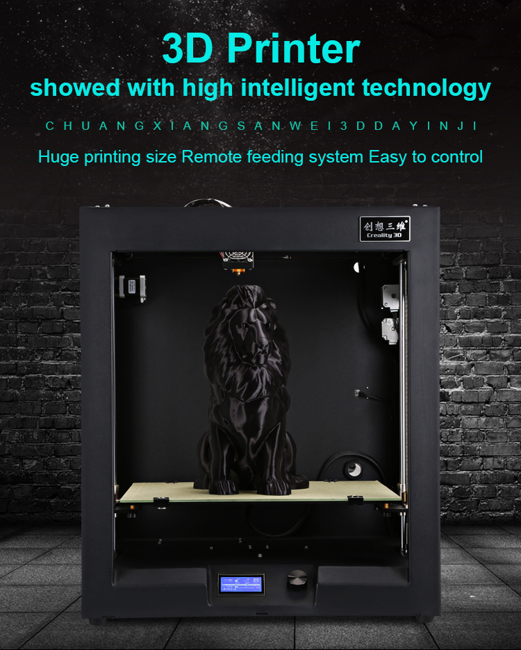 Metal FDM printing large 3D printer with 400*400*400mm build size Creality CR-4040 3d printer