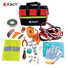 KACY Prompt levering Emergency Auto Kit Hardware Gereedschap Automotive Veiligheid Kit Set
