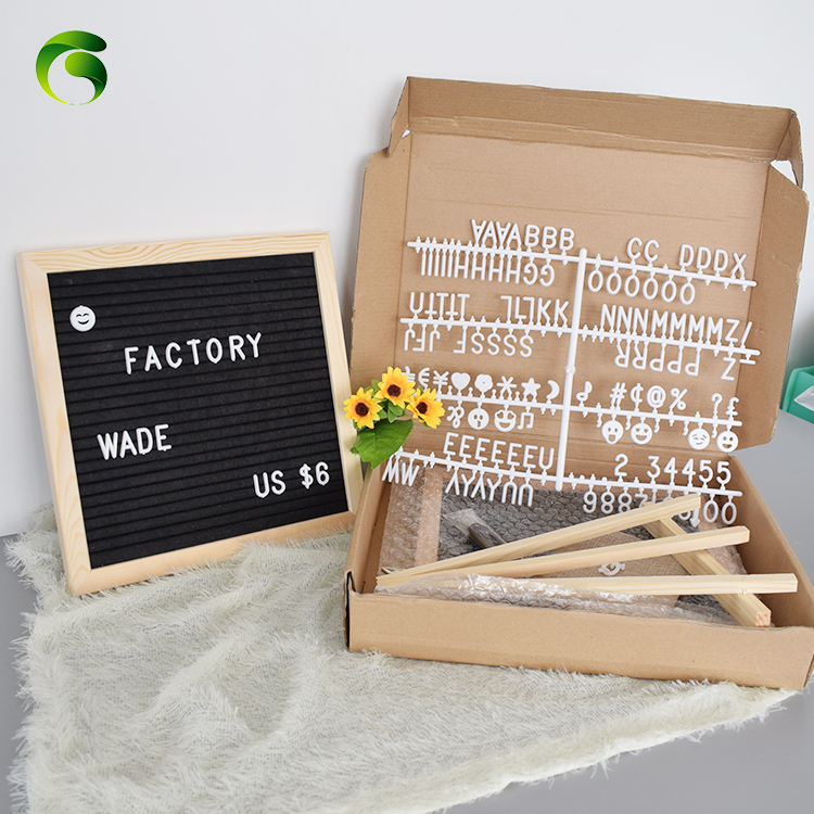 Amazon hot sale product letter board changeable modern square letter board