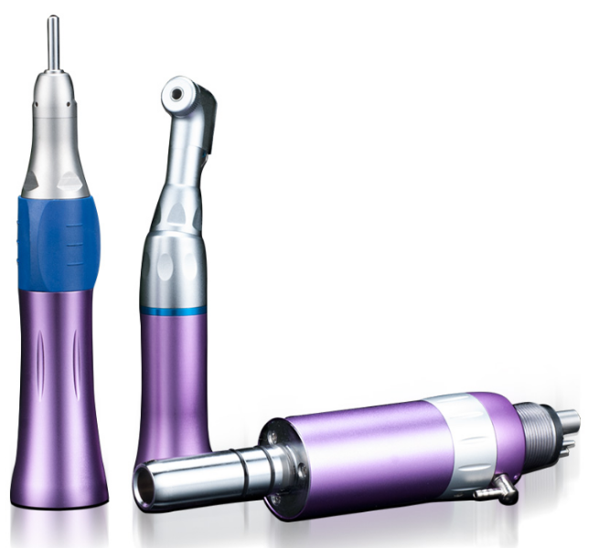 2018 EX-203 colored  slow speed dental turbine handpiece kit price for sale