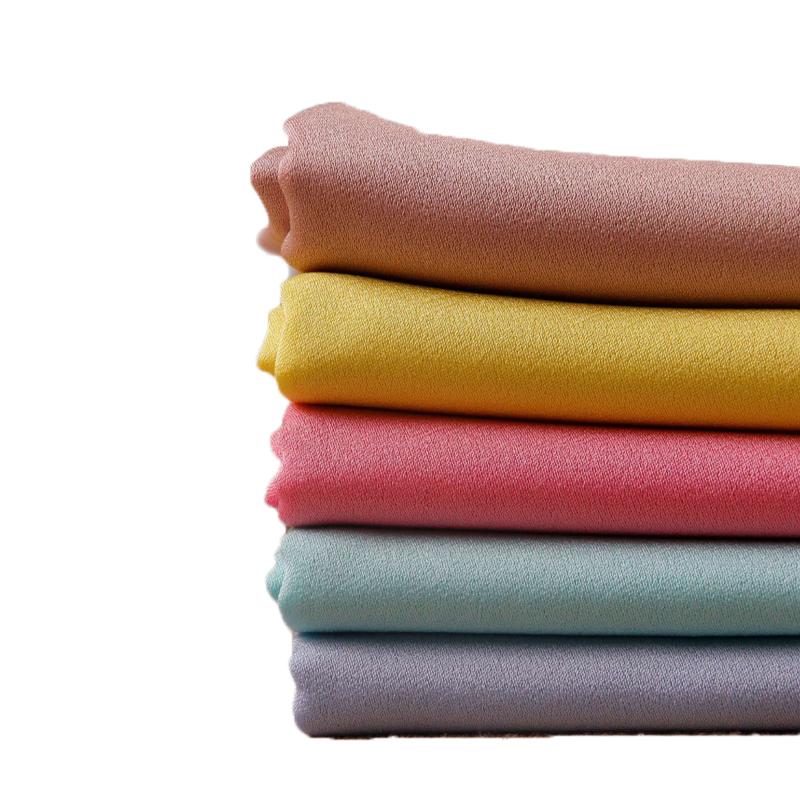 Rayon naylon spandex karışık kumaş 13S bengaline grogren için yüksek streç kumaş pantolon ve pantolon