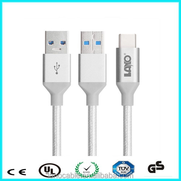 2015 cheap price white usb 3.1 type c to micro b male in stock