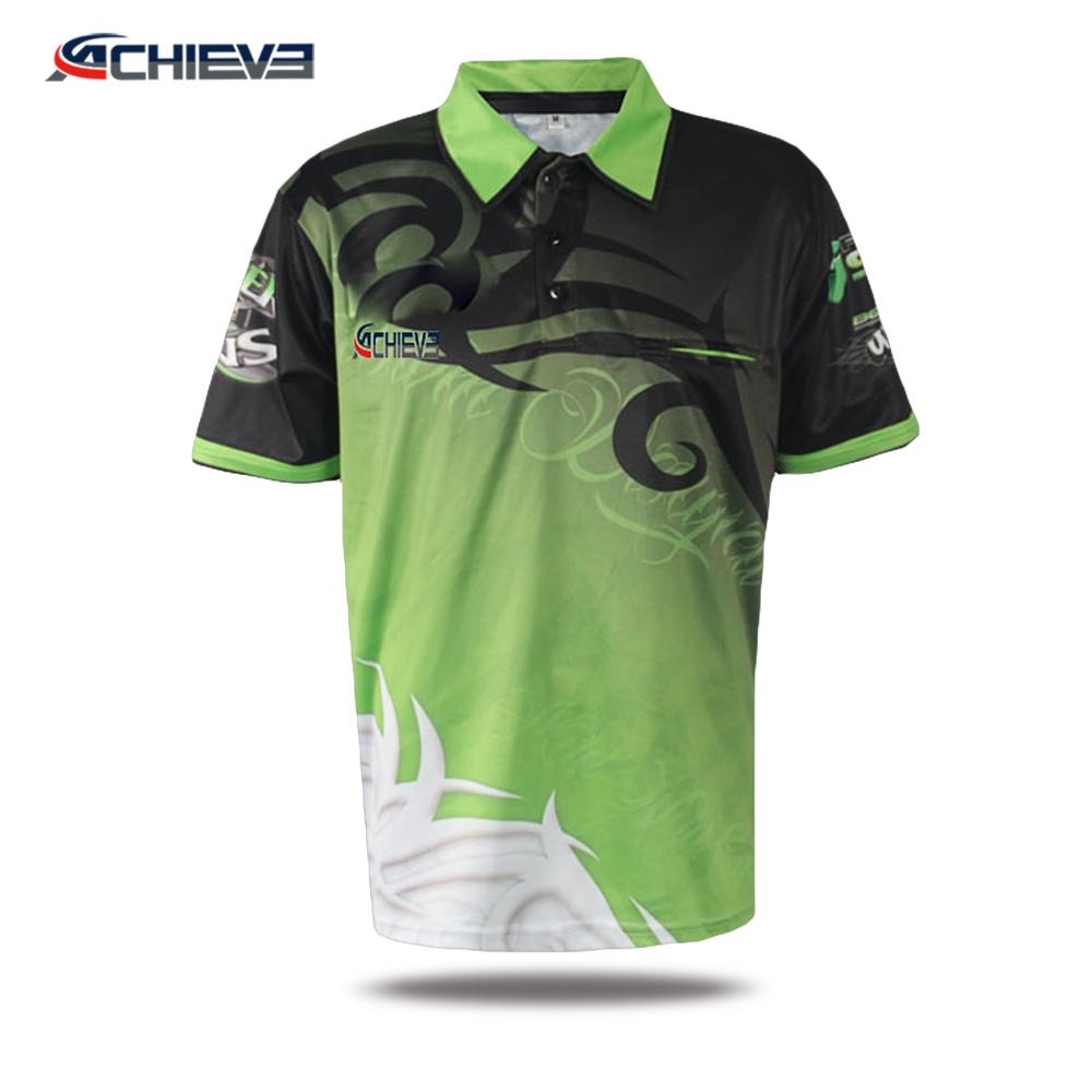 b2fc23aa4 2018 Custom made new model Cricket Jerseys Pattern Sublimated Cricket team  Jersey