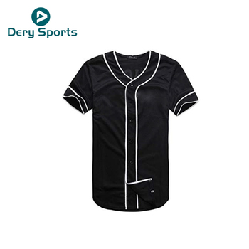 2018 custom custom baseball pullovers uniforms youth plain baseball jerseys