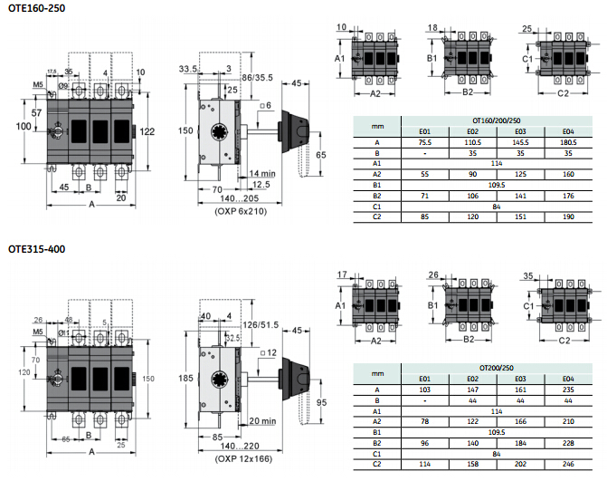 CSQ OTE 630A isolator switch 3 phase 16A-630A  sc 1 st  Alibaba : 3 phase isolator switch wiring diagram - yogabreezes.com