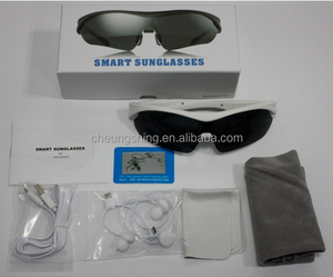 New products 2016 wirless smart bluetooth sunglasses for mobile phone