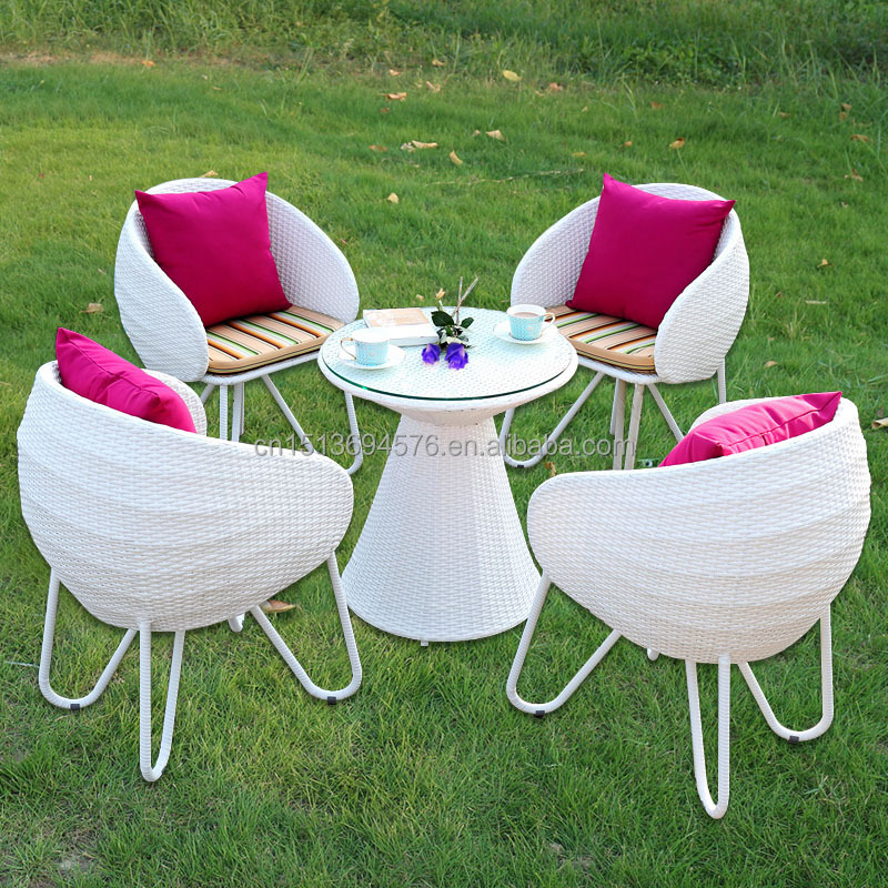 High Quality Pe Rattan /wicker Outdoor Furniture White Colour Chairs - Buy Rattan  Wicker Restaurant Outdoor Furniture,White Rattan Outdoor Furniture ... - High Quality Pe Rattan /wicker Outdoor Furniture White Colour Chairs