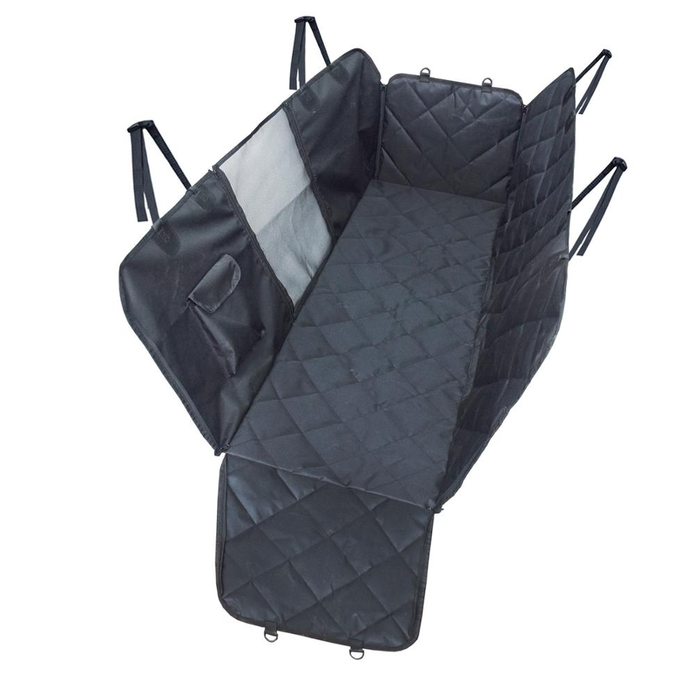 Waterdicht Duurzaam Pet Dog Car Seat Cover Hangmat met Viewing Mesh Venster en Opslag Pocket