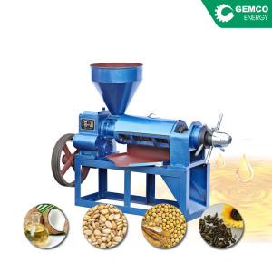 Make crude vegetable oil uses automatic corn germ oil extraction expeller machine