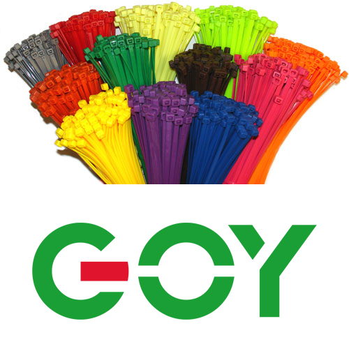 GYS8x400A secure cable ties 16 Inch Black Heavy Duty Self Locking Cable Tie - 100 pcs/pack