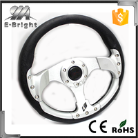 13 Inches Car Steering Wheel Automobile Race Modified PU Steering Wheel