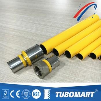 gas pipe fitting for flexible pe al pe multilayer pipe gas system & Gas Pipe Fitting For Flexible Pe Al Pe Multilayer Pipe Gas System ...