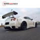GTR R35 to LB work style LB performance rear spoiler for GTR rear skirt rear spoiler for GTR GTR R35 rear wing FRP material fo