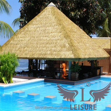 Cheap simulation palm leaf thatch,emulating thatch,artificial thatch roofing