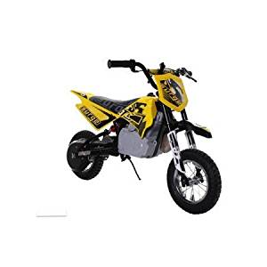 Surge Boys' 24V Electric Dirt Bike, Yellow 44.37 x 24.84 x 28.07 Inches