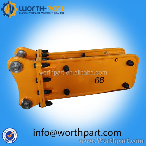 Excavator Hydraulic Rock Breaker For 1-50 Ton Excavator