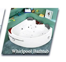2 Person Bathroom Jetted Bathtub