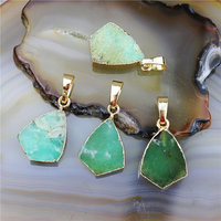 Australia Jade pendant,wholesael Fashion jewelry jade shield pendant,gemstone Gold plated charms for jewelry making CH-MAP0677