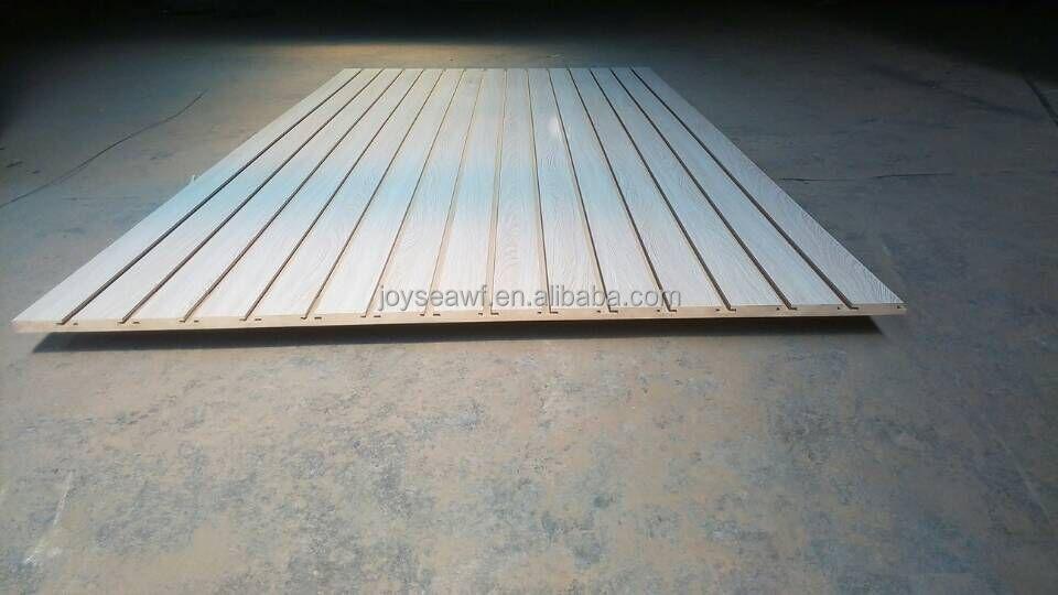 4 8 Slotted Mdf Board Slatwall Panel Aluminum Slatwall