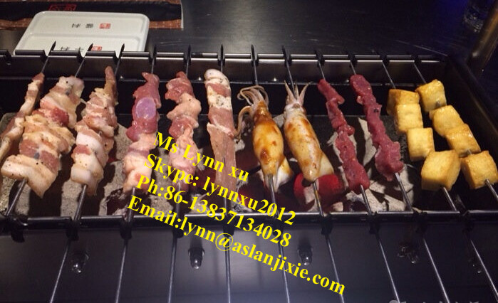 Charcoal Chicken Grill Machine Electric Rotary Chicken