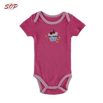 Baby Girls Clothing Rompers Wholesale Organic Baby Clothes