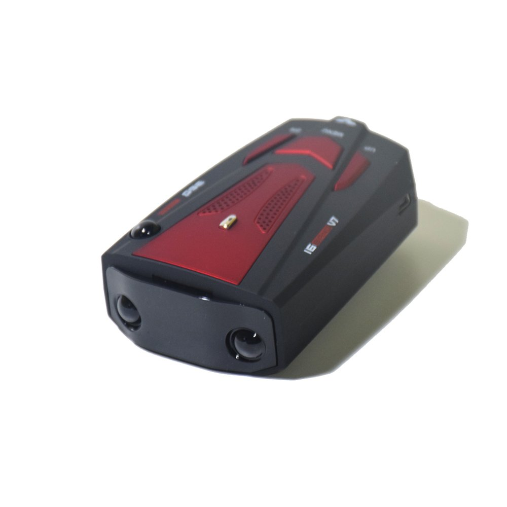 HYPNUX 360 Degree Detection,Voice Alert,Easy to Mount,Car charging ,Multiple frequency Bands Laser Detector,Car Speed detectors