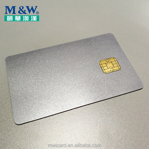 ISO7816 JAVA Card Smart Card Silver J2A040 40K High Quality Chip Card