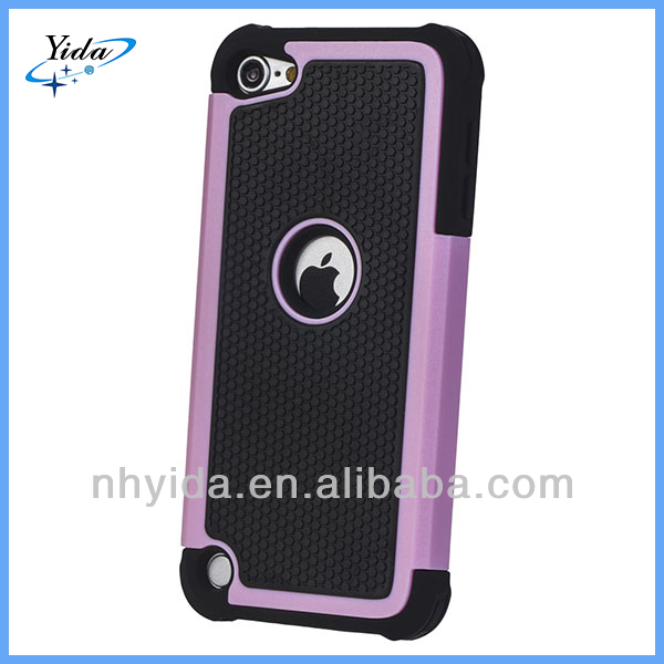 3 In 1 Rugged Case Cover For Apple iTouch 5 Defender Phone Case For Apple iTouch 5