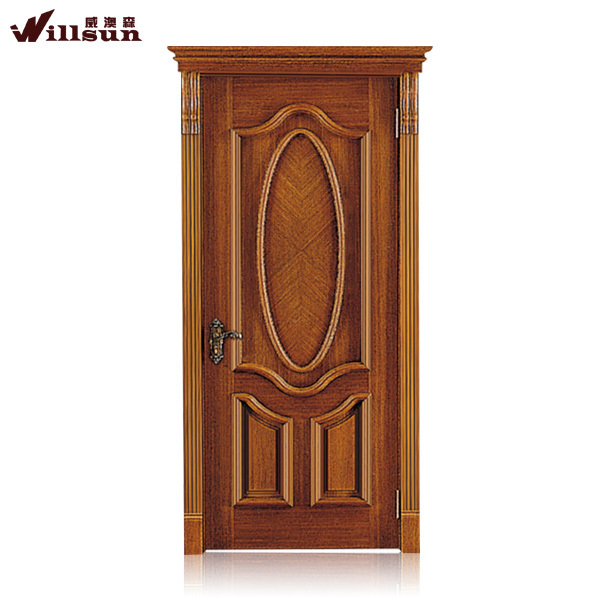 2015 wooden main door design house exterior door panel for Single main door designs for home