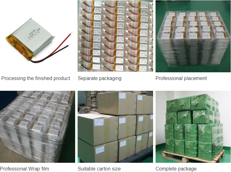 Rechargeable battery 953033 650mah 3.7V 25C lithium polymer battery