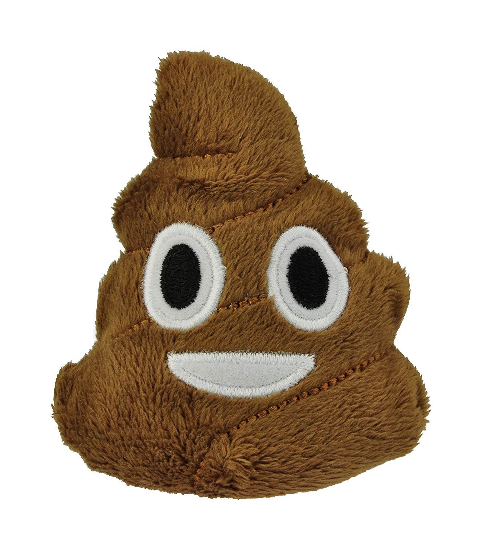 Emoji I Love Poo Plush