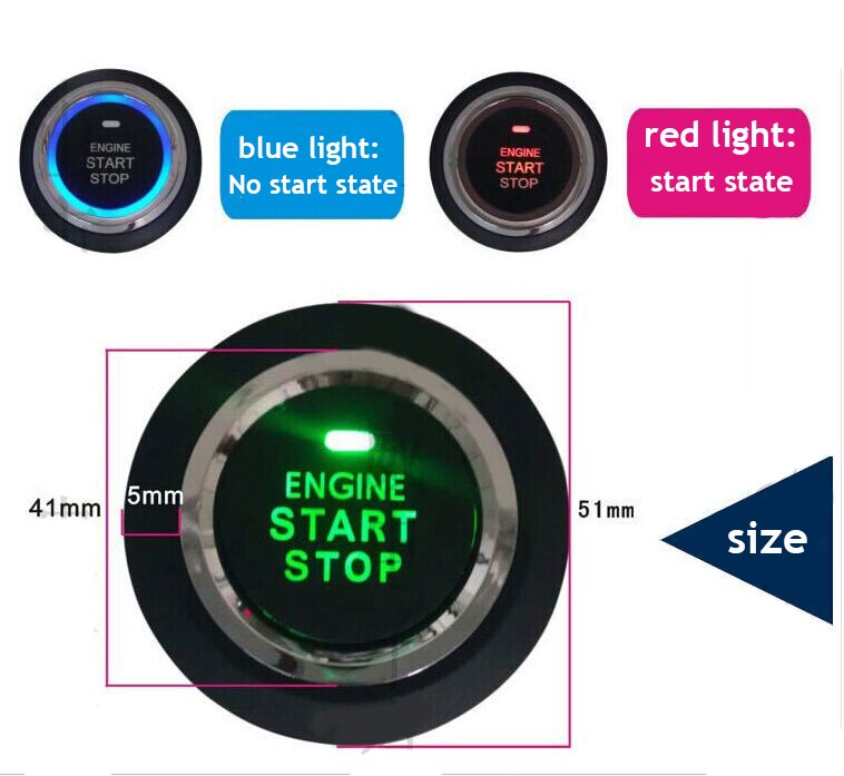 New Auto Smart Car Alarm Car Security Engine Start Stop System ...