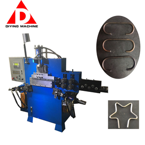 Automatic Hydraulic Heavy Duty Square Strapping Wire Buckle Making Machine