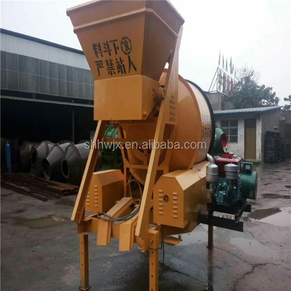 china-made JZC350 diesel engine Concrete Mixer for sale