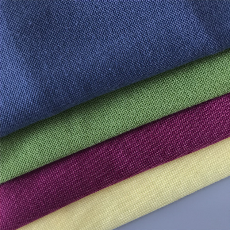 Wholesale T/C knitting 100% cotton pique fabric for tshirt