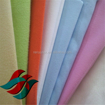 Anti Static Microfiber Double Sided Plush Fabric Wiping