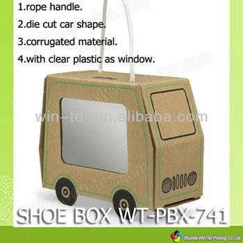Wt-pbx-741 Eco Friendly Baby Shoe Packaging Box