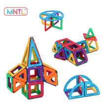 MNTL 78-PCS Plastic Magnetic Educational Blocks Smart Kid Car Toy Hot New Products