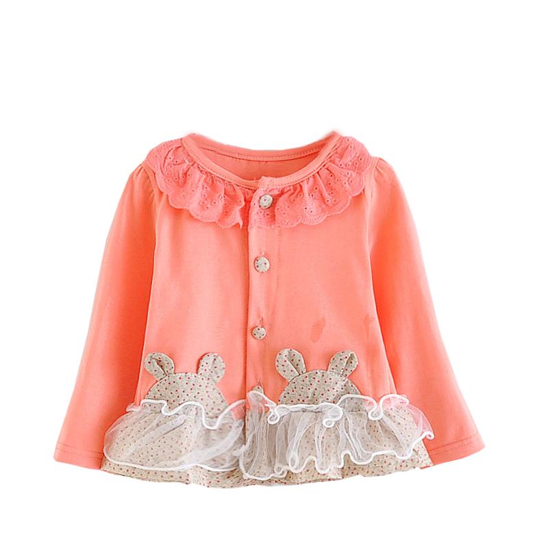 0f5d3b17f Baby Girl Clothes Cotton Fashion Children Designer Girl Lace Shirt Blouse  Kids 1-2Y 2015