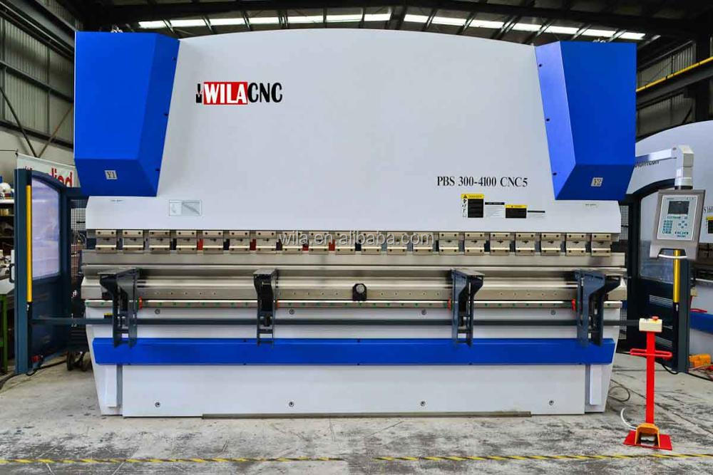 CNC Control System CNC Hydraulic Press Brake WC67Y-80T2500MM ,plate bending machine price list