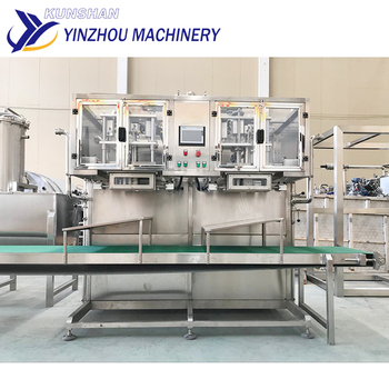 Double-head Bag in Box Filling Machine Aseptic for Fruit juice, Jam, Milk