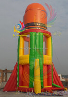 2014 newest inflatable parachute rocket sport games for sale