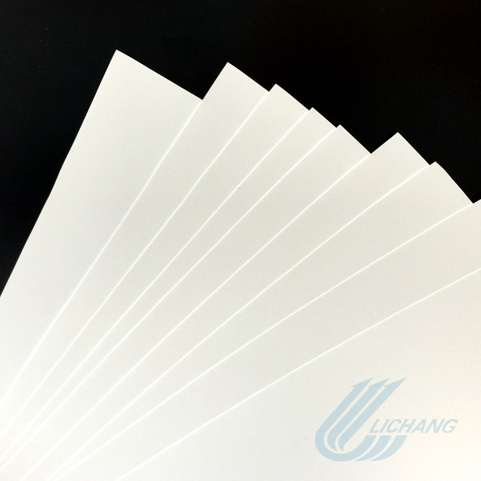Cheapest price BOPP sythetic paper for special applications