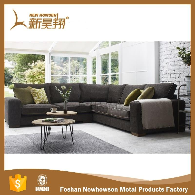 cafe furniture new model leather sofa with high quality