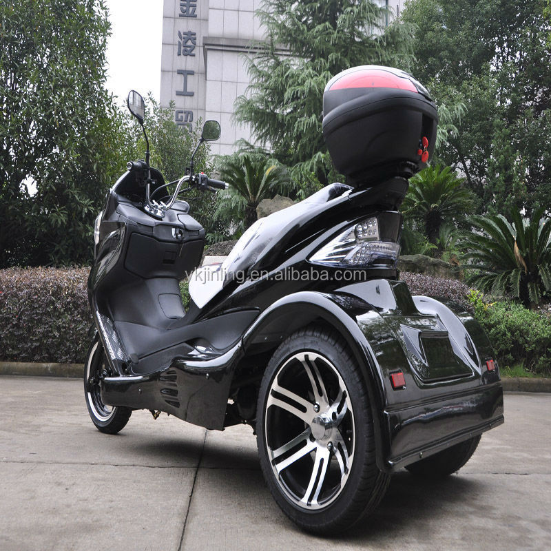 new 300cc vespa scooter 3 wheel trike motorcycle. Black Bedroom Furniture Sets. Home Design Ideas