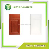 Antique style solid wood MDF PVC cabinet door