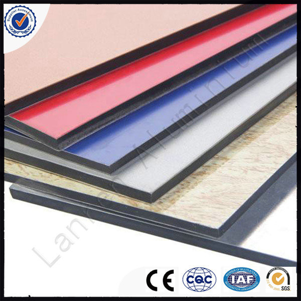 Outdoor sign board material China supplier FVDF aluminium composite panels