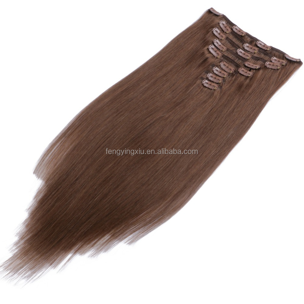 100% Unprocessed Hair Extension No Shedding ไม่มี Tangle No แห้ง 100% Human Hair Weft Remy ผม