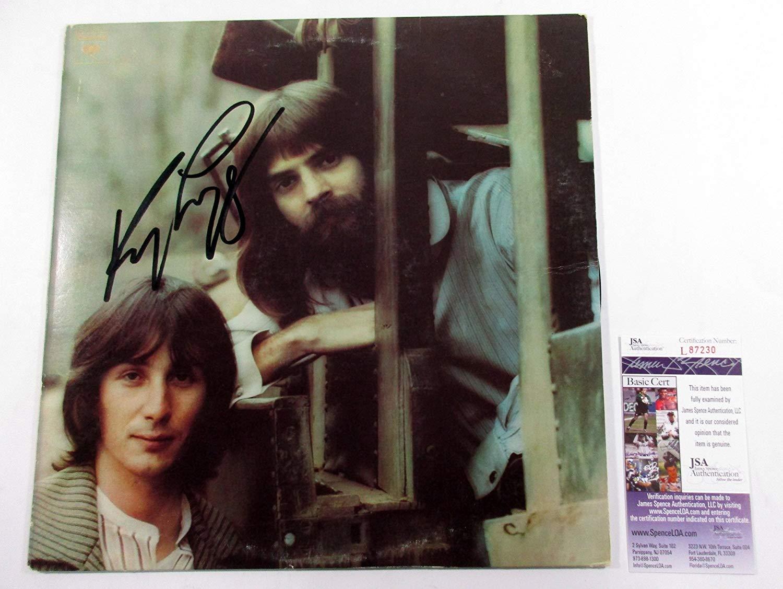 Kenny Loggins Signed LP Record Album Loggins and Messina Mother Lode w/ JSA AUTO
